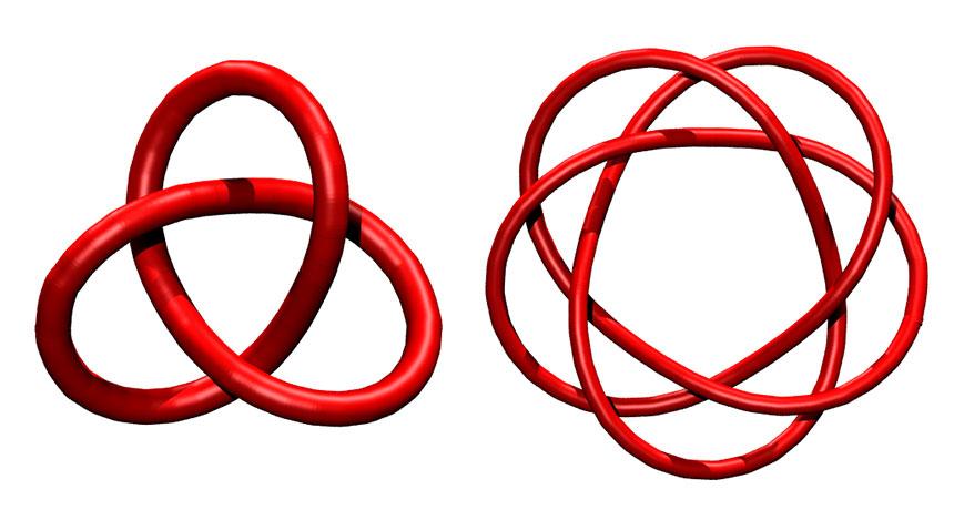 """Moleküler düğümlerin """"periyodik tablosu""""na bir göz atın"""