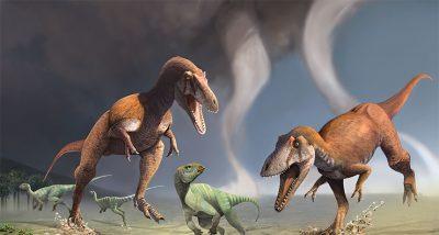 Patagonya'da T.rex benzeri dinozor bulundu