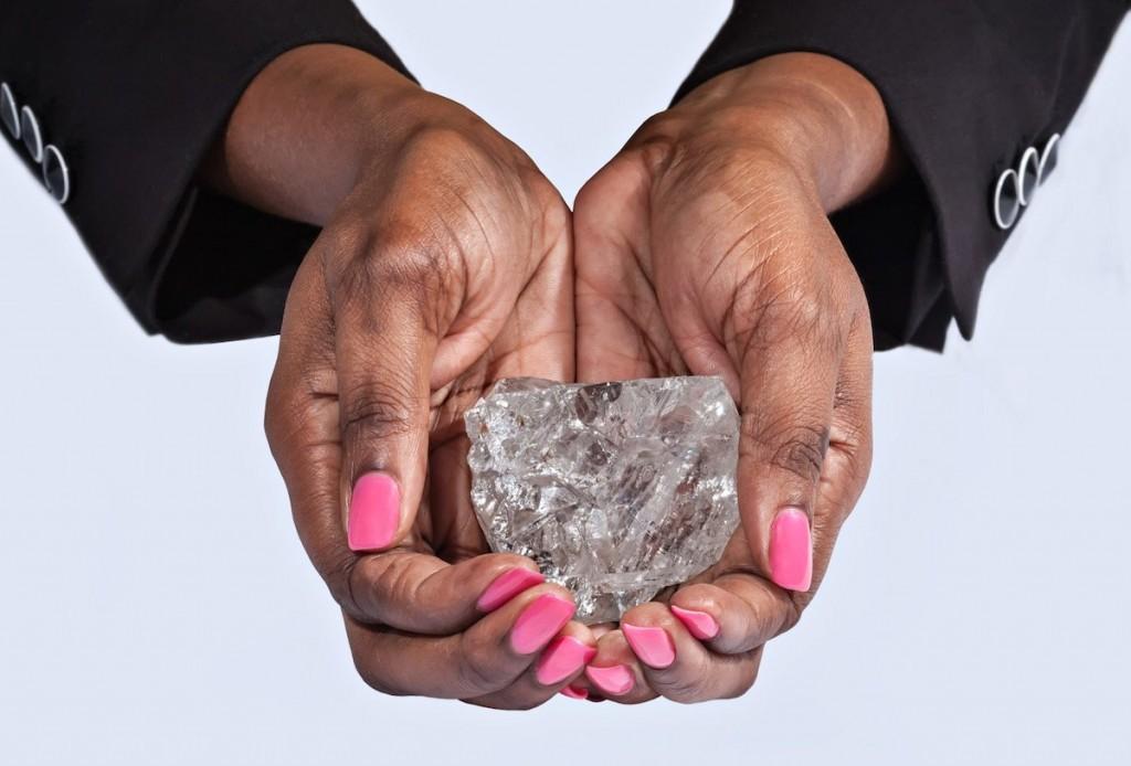 Dünyanın en büyük 2. elmas taşı bulundu