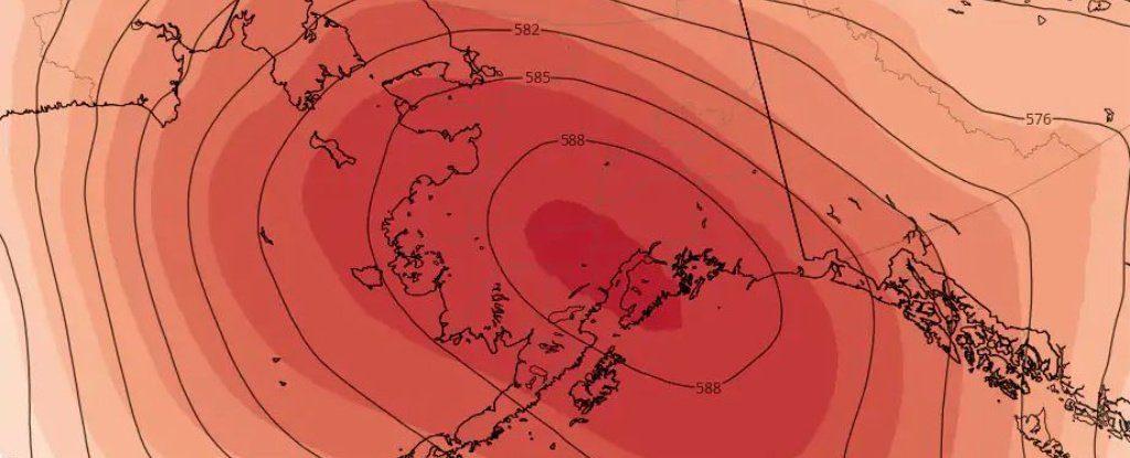 Alaska'nın üstündeki sıcaklık kubbesi tüm zamanların sıcaklık rekorlarını kırma riski oluşturuyor