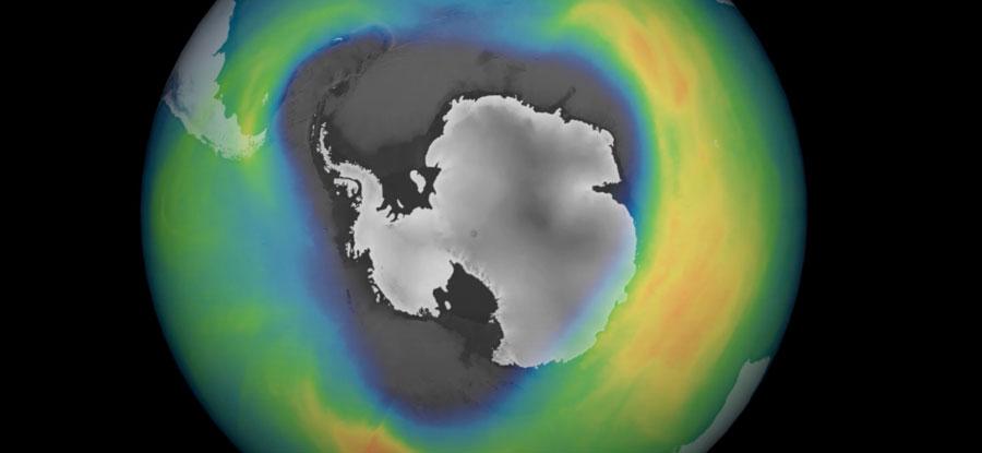 Antarktika üzerindeki ozon deliği 2020'de yeniden genişledi