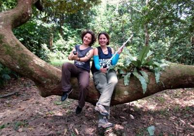 Primatolog Amy Klegarth ve Güneydoğu Asya'daki makaklar