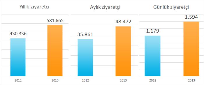 Bilim.org 2013 İstatistikleri