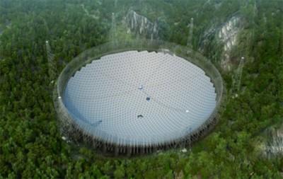 Çin son derece büyük bir radyo teleskop inşa ediyor