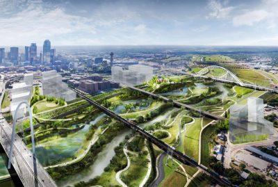 Dallas'ta Central Park'tan 11 kat daha büyük şehir parkı kurulacak