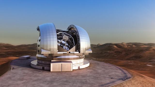 Aşırı büyük teleskop için çalışmalar başladı