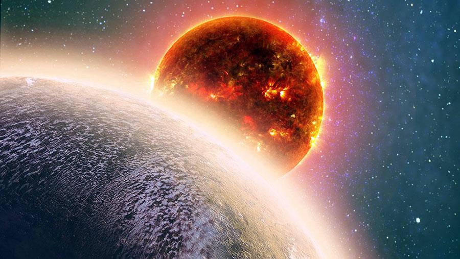 Volkanlar bir süper dünyanın atmosferinde yeni bir hayat başlatmış olabilir