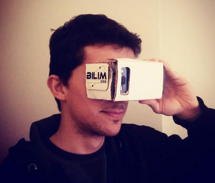 Kendi sanal gerçeklik gözlüğünüzü yapın!