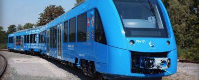 Dünyanın hidrojenle çalışan ilk yolcu treni Almanya'ya geliyor