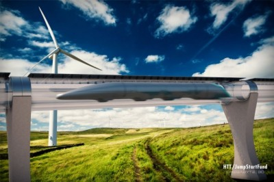 Elon Musk'ın ses hızındaki Hyperloop projesi yapılıyor