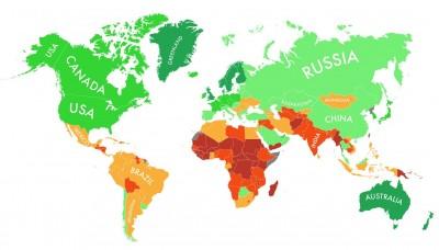 İklim değişikliğine büyük ölçüde dayanacak ülkeler