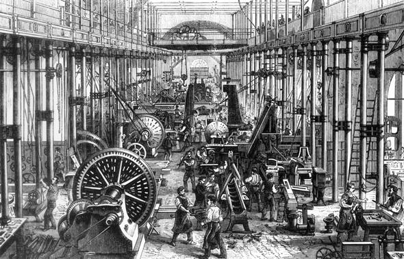 Endüstri mühendisliğinin tarihçesi