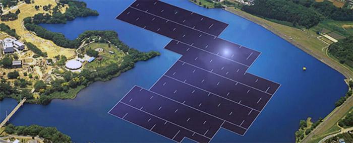 Dünyanın en büyük güneş enerjisi santrali Japonya'da inşa ediliyor