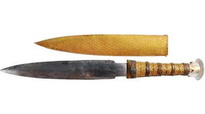 Kral Tutankamon'un bıçağı meteordan yapılmış