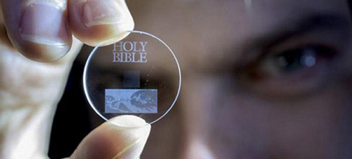 360 TB veriyi sonsuza kadar saklayabilen optik disk geliştirildi