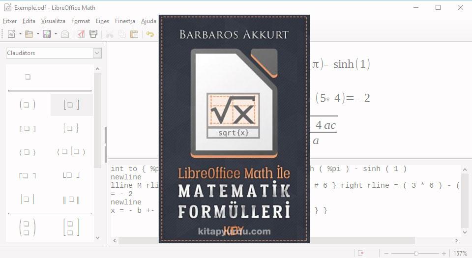 LibreOffice Math ile Matematik Formülleri (Barbaros Akkurt)