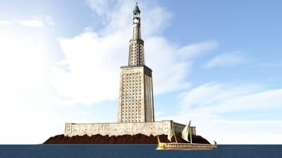 İskenderiye Feneri: Dünyanın eski harikası Mısır'da yeniden yapılıyor