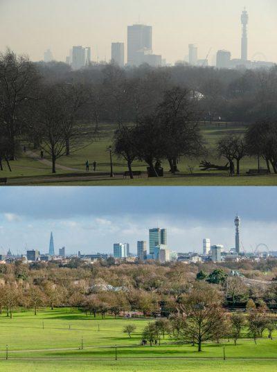 Londra modern çevre kirliliğinde yeni bir rekor kırdı