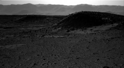 """Curiosity Mars'ta """"yapay ışık kaynağı"""" tespit etti"""