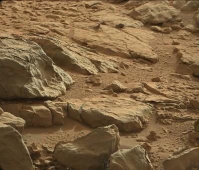 Mars'ta metal benzeri cisim keşfedildi