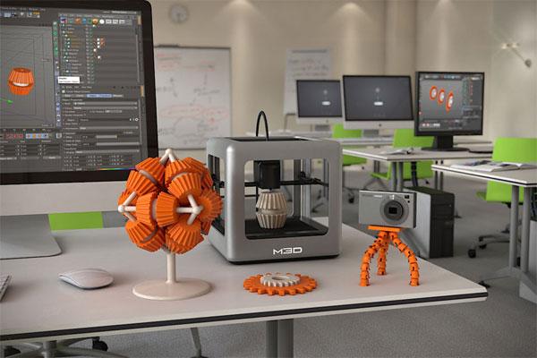 Herkesin satın alabileceği ilk 3D yazıcı: Micro 3D