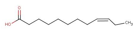 Şekil 2: Omega-3 kavramına uygun, temsili bir yağ asidi molekülü.