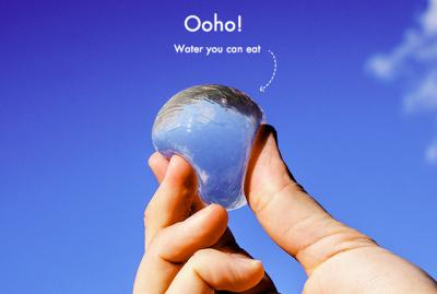 Yenebilir su kapsülü, su içme anlayışınızı kökünden değiştirecek