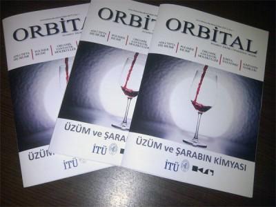 """İTÜ'den kimya dergisi """"Orbital"""""""