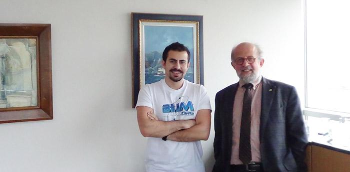 Şahin Çağlayan (Bilim.org) & Prof.Dr. Pınar Mengüç (Özyeğin Üniversitesi)
