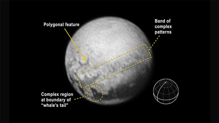 Plüton'un jeolojisi ortaya çıkıyor