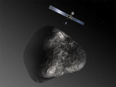 İnsanlık İçin Küçük Bir Adım Daha! Rosetta, 67P Kuyruklu Yıldızına İniyor