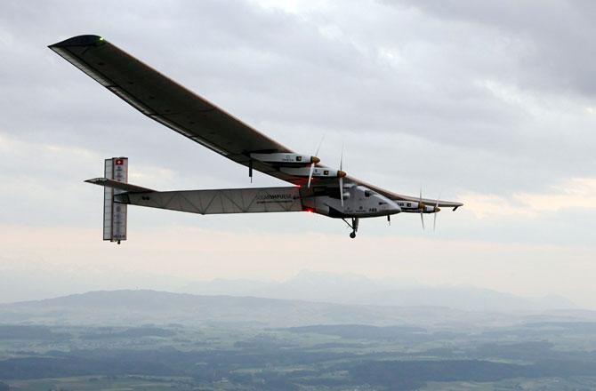 Yeni güneş enerjili uçak dünya turunda