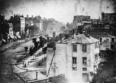 Tarihin ilk insanlı fotoğrafı 176 yıl önce Paris'te çekildi