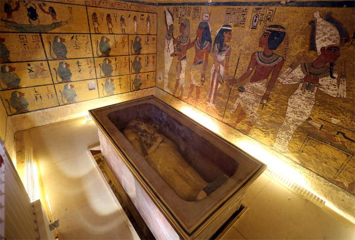 Tutankamon'un mezarında çok sayıda gizli bölme keşfedildi