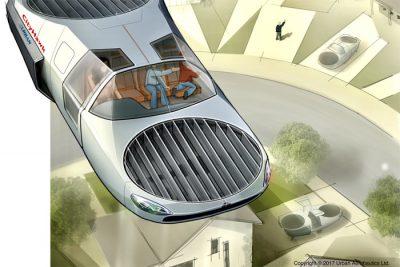 İlk uçan araba 2022 yılında gelebilir