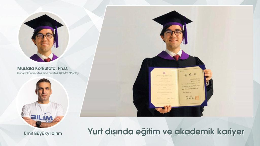Yurt dışında eğitim ve akademik kariyer (Mustafa Korkutata)